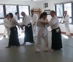 Still Mind Aikido Empty Hand Attack Behind
